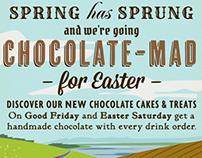 Talgarth Tearooms Easter advert