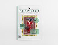 Elephant Magazine Layout