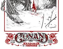 Conan gigposter