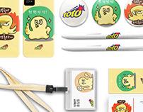 KAKAOTALK emoticons concept-sports toto branding