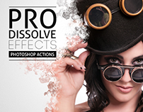 Pro Dissolve Effects - Photoshop Actions