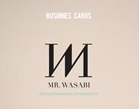 Business Cards - MR.Wasabi