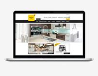 KITCHEN PARTS – Webdesign & Branding – E-Commerce
