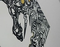 Intricate Abstract Tile Art