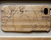 Bamboo iPhone Case Design