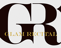 Glam Recital Logo Design