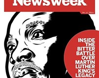 Martin Luther King Jr. (Cover, Newsweek Mag. IV·3·2014)