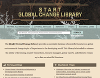 Global Change Library | START
