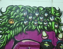 Sml Twn Skate Park Murals project