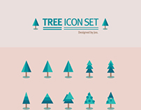 50 tree icon set