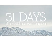 31 Days of Wallpapers