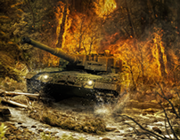 'Tank' Digital Art