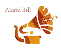 Alarm bell icons