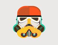 Star Wars fan art - Stormtrooper Animation