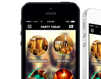 'Party Today'  Application