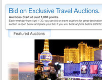 Chase Ultimate Travel Auctions