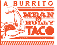 Burrito Boys. Wall Graphics