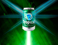Are you high, a beer reaches the perfect cold in space?