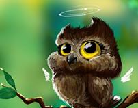 I am cutest of OWL!!