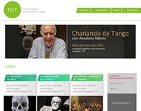 CIEC: Diseño y desarrollo de sitio web