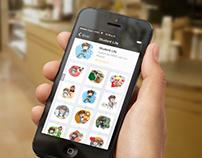 KIK Messenger Sticker Set