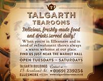 Talgarth Tearooms April 2014 Press Advert