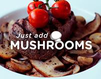 The Mushroom website