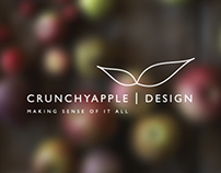 CRUNCHYAPPLE DESIGN - New Logo Design