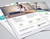 EXOS - Writing & Translation Business Flyer Ad