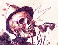 Skull Composition. Selector Marx