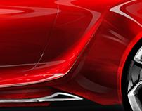 Karmann Ghia Concept Sketch