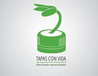 creación de campaña para recolectar tapas plasticas