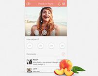 Peach or Prune App