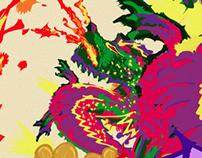 Afiche Lollapalooza Chile • Concurso #DelRockAlArte