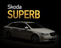 Skoda Superb clip