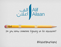 Fight for Child Education - Alif Ailaan