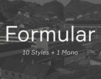 Formular typeface
