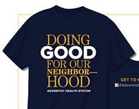 Community Involvement team shirt