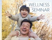 Wellness Seminar video info display ads