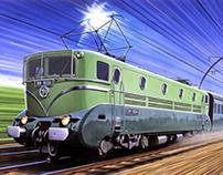 SNCF Locomotive BB-9004