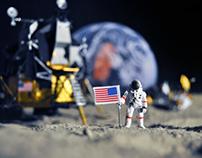 Moon Diorama