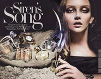 Siren's Song with Zhang Jingna - Harper's BAZAAR