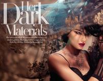 Her Dark Materials w Georges Antoni - Harper's BAZAAR