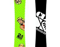 Kapow Snowboard design (mock)