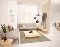 Interior & Furniture 3D render
