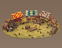game buildings and some character
