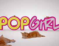 Meowster On Pop Girl