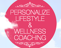 "Flyer for ""Personalize lifestyle and wellness coaching"""