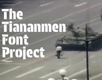 The Tiananmen Font Project (WORK IN PROGRESS)