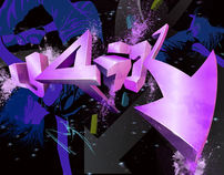 U4ik Dance Crew Logo Banner